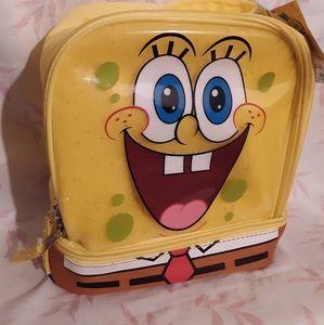 SpongeBob Dual Compartment Lunch Bag